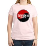 TAE KWON DO Way Of Life Yin Yang Women's Light T-S