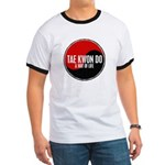 TAE KWON DO Way Of Life Yin Yang Ringer T