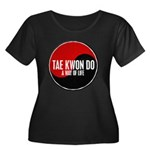 TAE KWON DO Way Of Life Yin Yang Women's Plus Size