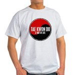 TAE KWON DO Way Of Life Yin Yang Light T-Shirt