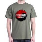 TAE KWON DO Way Of Life Yin Yang Dark T-Shirt