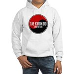 TAE KWON DO Way Of Life Yin Yang Hooded Sweatshirt