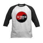 TAE KWON DO Way Of Life Yin Yang Kids Baseball Jer