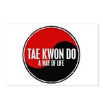 TAE KWON DO Way Of Life Yin Yang Postcards (Packag