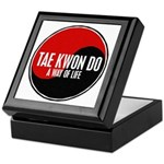 TAE KWON DO Way Of Life Yin Yang Keepsake Box