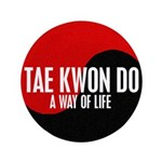 TAE KWON DO Way Of Life Yin Yang 3.5