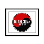 TAI CHI CHUAN Way Of Life Yin Yang Framed Panel Pr