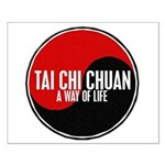 TAI CHI CHUAN Way Of Life Yin Yang Small Poster