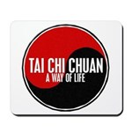 TAI CHI CHUAN Way Of Life Yin Yang Mousepad