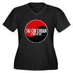 TAI CHI CHUAN Way Of Life Yin Yang Women's Plus Si
