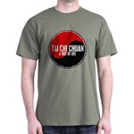 TAI CHI CHUAN Way Of Life Yin Yang Dark T-Shirt