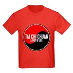 TAI CHI CHUAN Way Of Life Yin Yang Kids Dark T-Shi