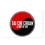 TAI CHI CHUAN Way Of Life Yin Yang Postcards (Pack