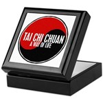TAI CHI CHUAN Way Of Life Yin Yang Keepsake Box