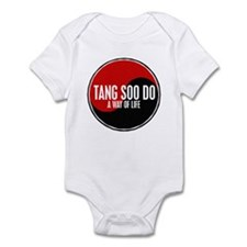 TANG SOO DO Way Of Life Yin Yang Infant Bodysuit