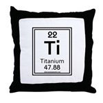 Titanium Throw Pillow