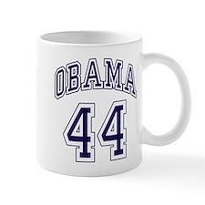 Obama 44th President nvy blu Mug