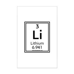 Lithium Posters