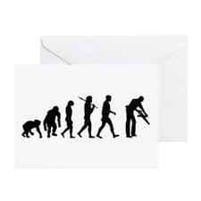 Carpenter Evolution Greeting Cards (Pk of 20)