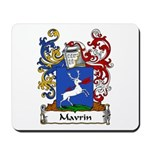 Mavrin Family Crest Mousepad
