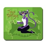 Jazz Cat! Mousepad