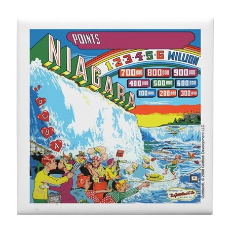 Gottlieb&reg; &quot;Niagara&quot; Tile Coaster