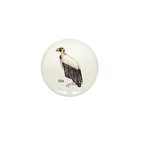 King Vulture Bird Mini Button (10 pack)