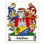 Mishin Family Crest Small Poster