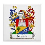 Mishin Family Crest Tile Coaster