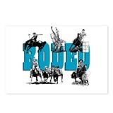 Rodeo Postcards (Package of 8)