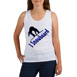 I Snowboard Women's Tank Top