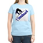I Snowboard Women's Light T-Shirt