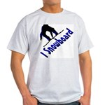 I Snowboard Light T-Shirt