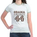 President Obama 44 Jr. Ringer T-Shirt