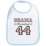 President Obama 44 Bib