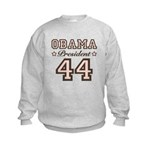 President Obama 44 Kids Sweatshirt