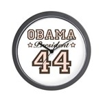 President Obama 44 Wall Clock