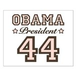 President Obama 44 Small Poster