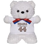 President Obama 44 Teddy Bear