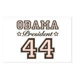 President Obama 44 Postcards (Package of 8)