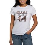 President Obama 44 Women's T-Shirt