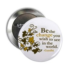"Gandhi 2.25"" Button"