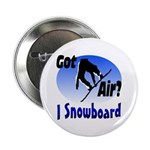 "I Snowboard 2.25"" Button (100 pack)"