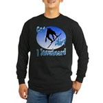 I Snowboard Long Sleeve Dark T-Shirt