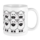 Cattle Dog and Sheep Small Mugs