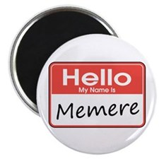 "Hello, My name is Memere 2.25"" Magnet (10 pack)"
