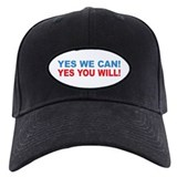 Obama Yes You Will Baseball Hat