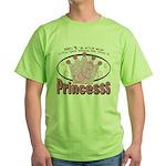 Glass Slipper Green T-Shirt