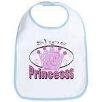 Shoe Princess Bib