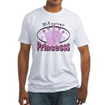 Shoe Princess Fitted T-Shirt